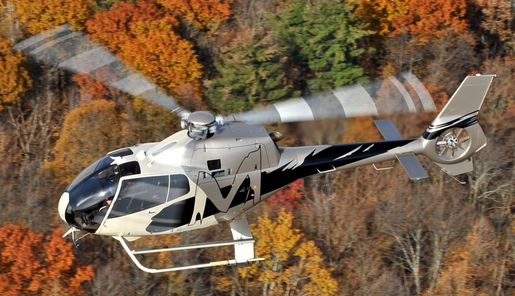 Inchiriere de elicopter pentru 4 pasageri