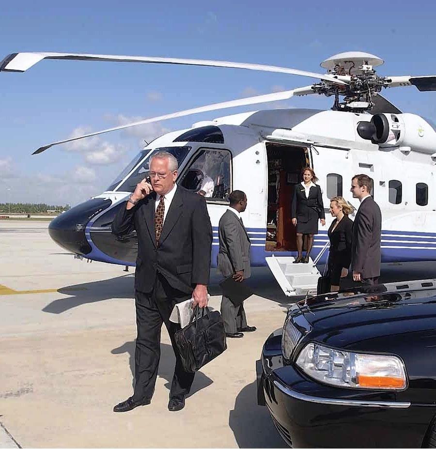 elicopter VVIP de inchiriat